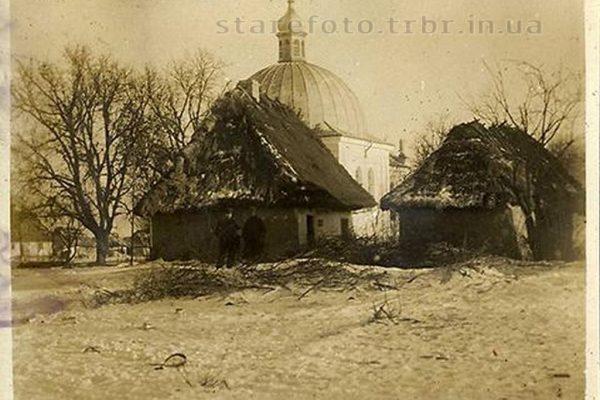 Іванівка. Церква і хати