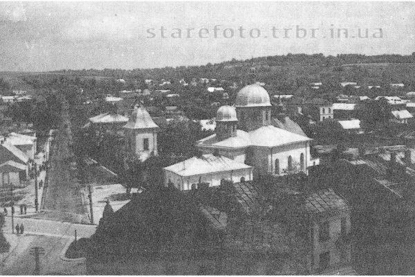 Вид на місто з ратуші