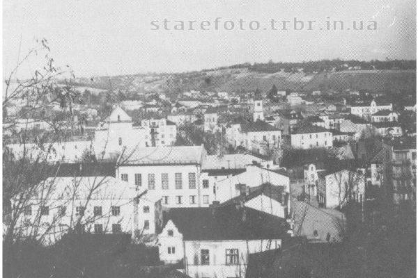 Вид на місто з замку