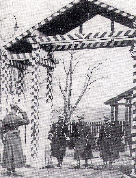 Брама до кошар 9-го полку уланів малопольських