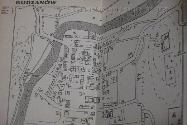 Частина плану села Буданів