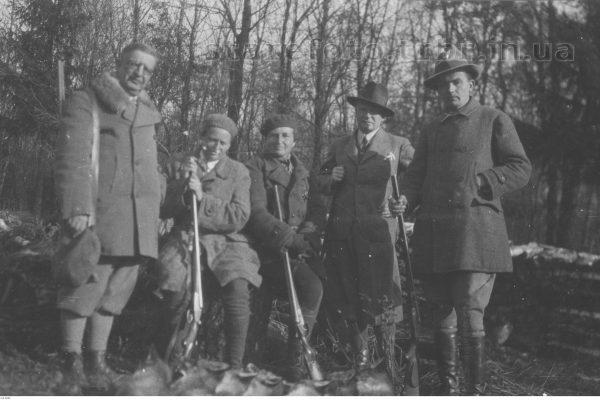 Полювання у графині Баворовської в Сороцьку
