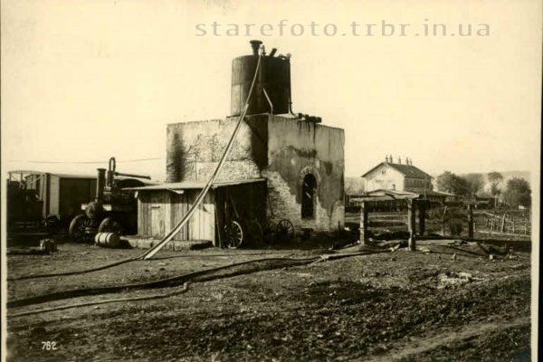 Зруйнована водогінна вежа